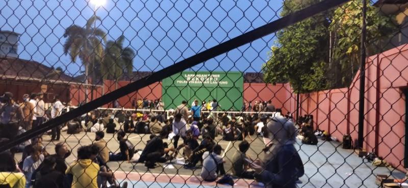 242 Orang Diamankan dalam Aksi Demo Omnibus Law, 2 Positif Narkoba
