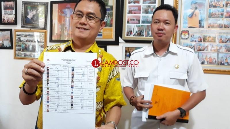 25 Bakal Calon Anggota DPD RI Setujui Rancangan DCS