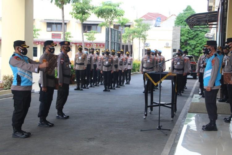 25 Personel Polda Lampung Ikuti Seleksi Sekolah Pimpinan Pertama dan Menengah