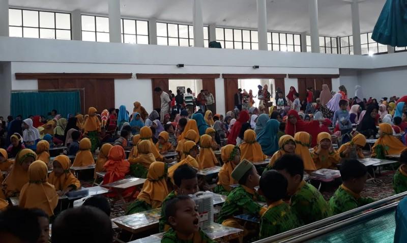 250 Siswa PAUD Lambar Antusias Ikuti Lomba Mewarnai