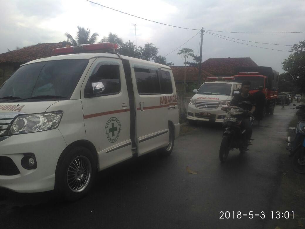 Dua Ambulance Disiagakan di Lokasi Pencarian Korban Tenggelam