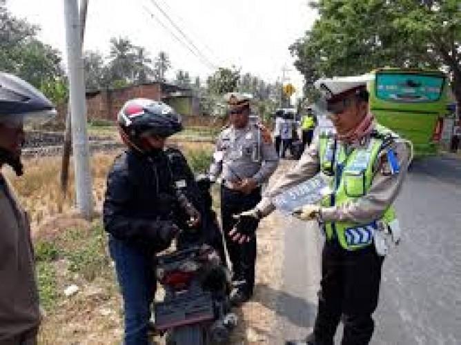 26.464 Pelanggaran Lalu Lintas Terjadi di Bandar Lampung Pada 2019