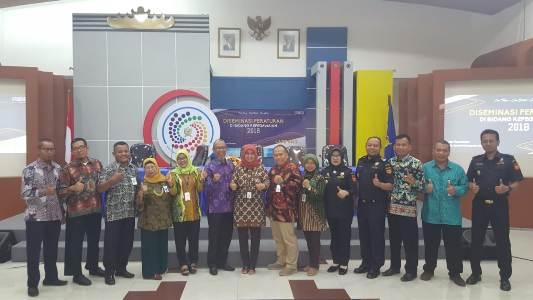 Perwakilan Kemenkeu Diseminasi Peraturan Kepegawaian di Lampung