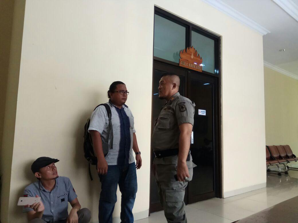 Pantukhir Penerimaan Satpol-PP LamselTertutu Bagi Wartawan