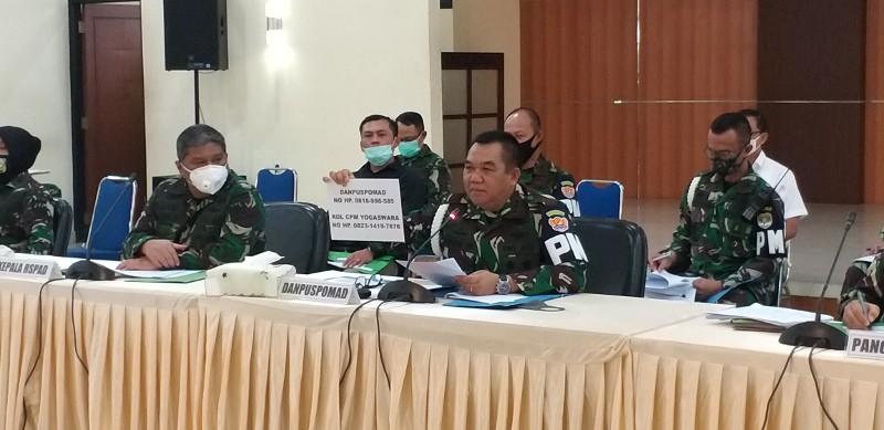 29 Anggota TNI Jadi Tersangka Perusakan Polsek Ciracas