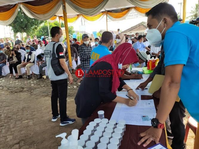 297 Calon Kepala Kampung di Way Kanan Jalani Tes Urine