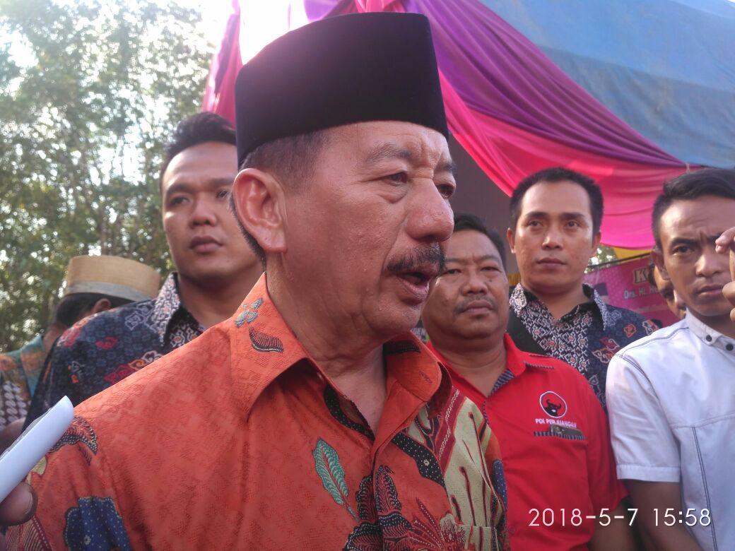 Kampanye di Tubaba, Herman Minta Kader PDIP Tak Setengah Hati
