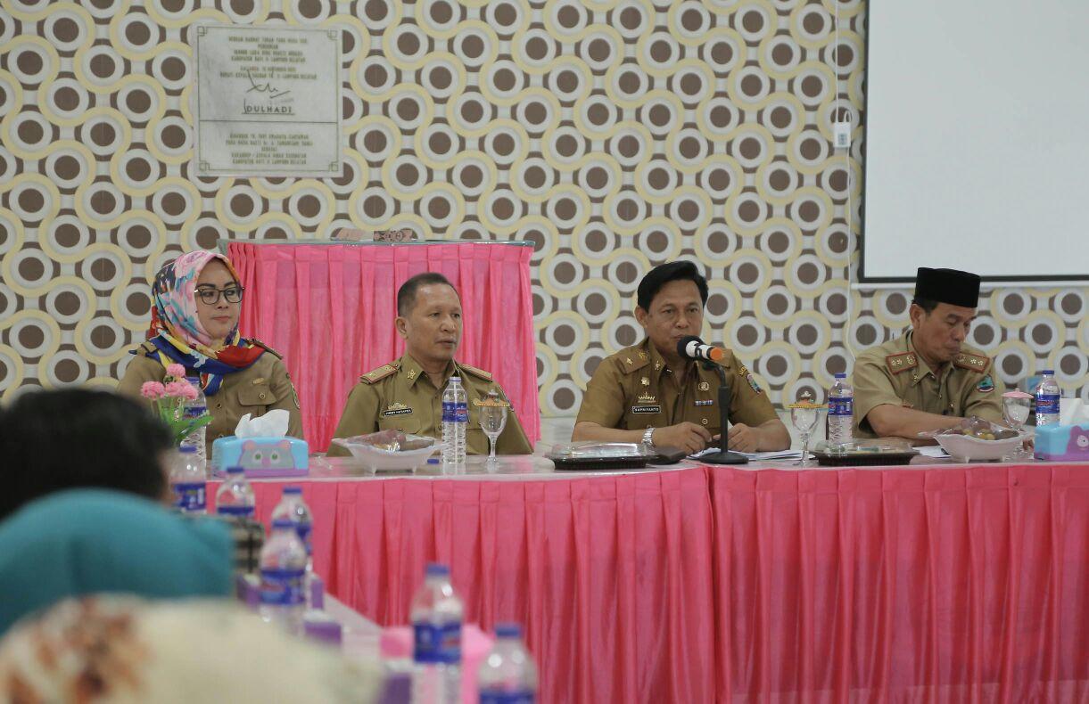 Dinkes Lampung Selatan Gelar Sosialisasi Penyakit Tidak Menular