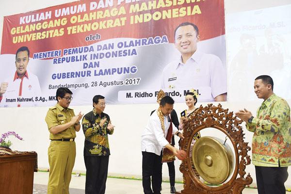 GOR Universitas Teknokrat Indonesia Terbaik Se-Indonesia-Dunia