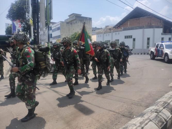 Ribuan Personel Brigif R-9/2 Kostrad Jajal Alat Tempur Baru