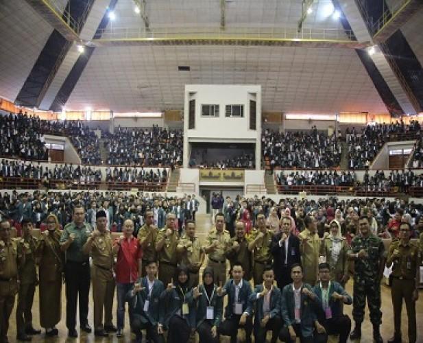 3.555 Mahasiswa KKN Unila Diharapkan Terapkan IPTEK