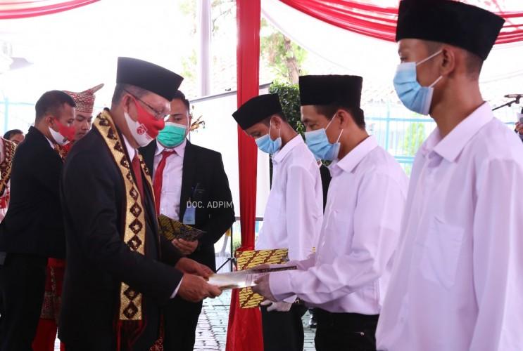 3.968 Narapida di Lampung Diberikan Remisi HUT RI