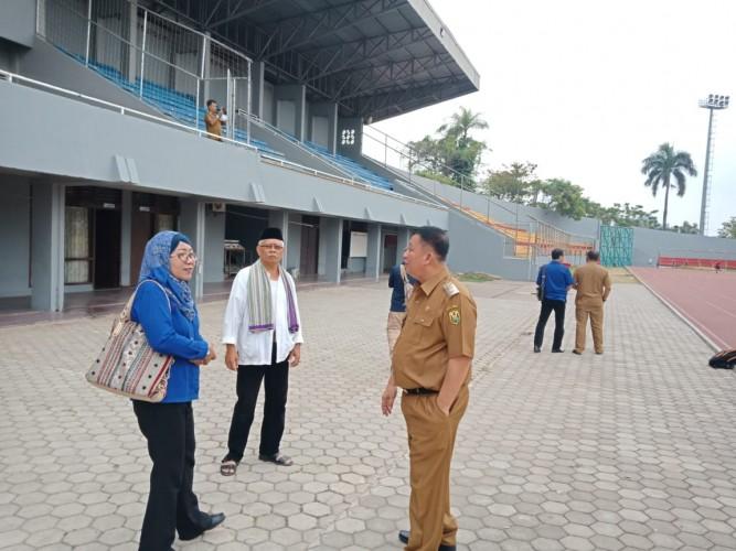 3 BUMN di Lampung Percantik Stadion Pahoman