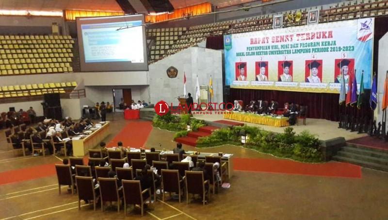 3 Calon Rektor Unila Siap Berebut Restu Menteri