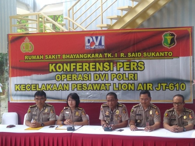3 Jenazah Lion Air Teridentifikasi Tim DVI