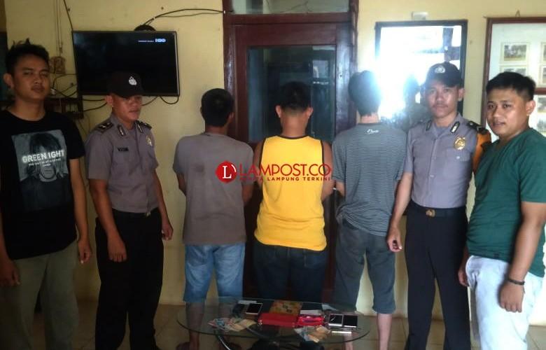 3 Penjual Toto Gelap di Pasar Gedung Karya Jitu