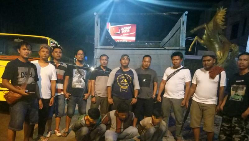 3 Tersangka Pencuri Truk di Tulangbawang Barat Diringkus Polisi