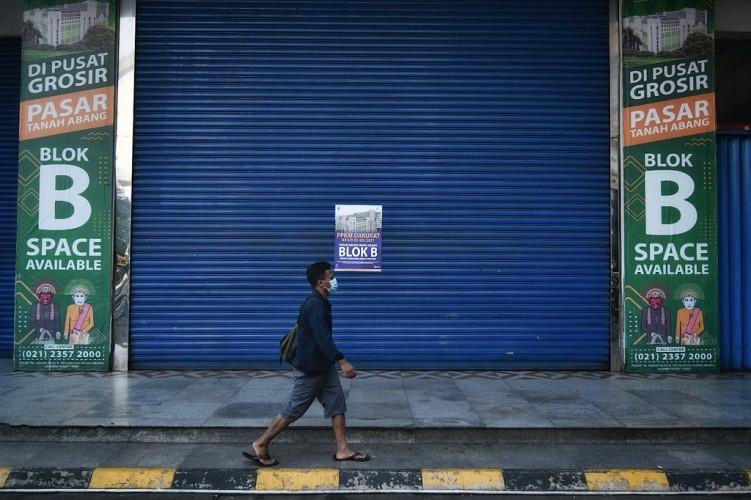 30 Persen Pedagang Pasar Bangkrut Akibat Covid-19