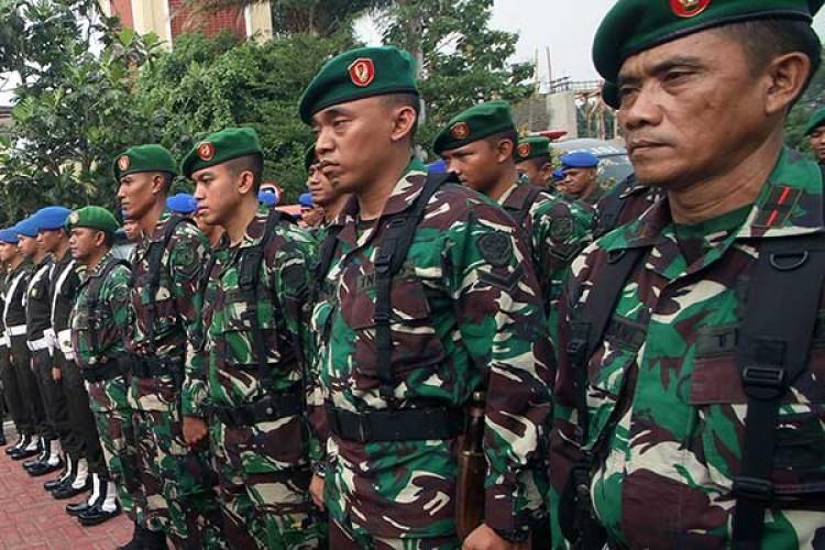 30 Ribu Personel Gabungan Amankan Pelantikan Jokowi - Ma'ruf