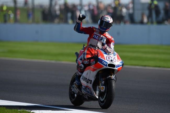 Juara MotoGP Inggris, Dovizioso Cetak Back to Back