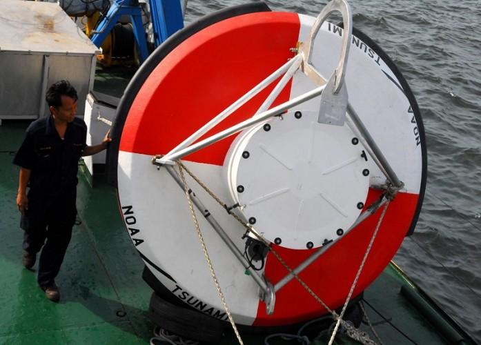 315 Alat Pendeteksi Dini Tsunami Dipasang di Sejumlah Lokasi