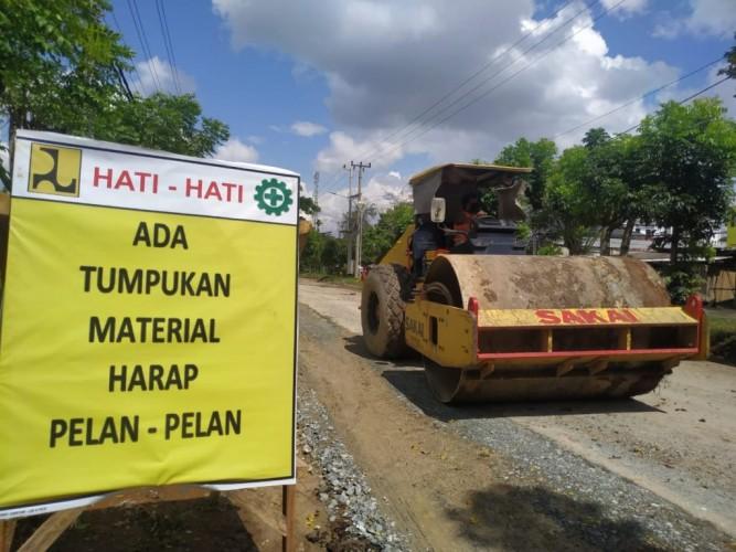 32 Paket Proyek Pengerjaan Jalan di Lamsel Dilelang