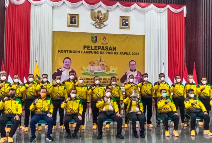 138 Atlet Lampung Siap Berlaga di PON XX Papua