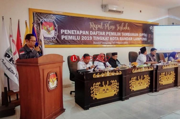 338 Napi Bandar Lampung Pindah Memilih di Lamsel