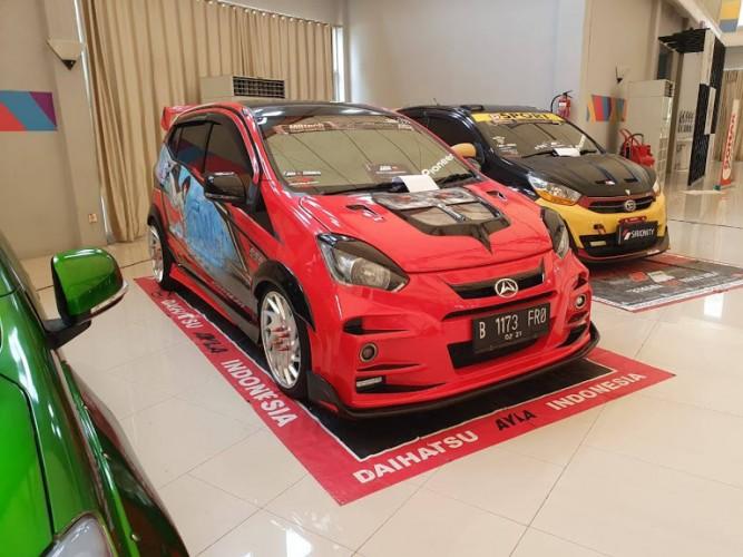 35 Mobil Modifikasi Ramaikan Daihatsu Dress Up Challenge di Palembang