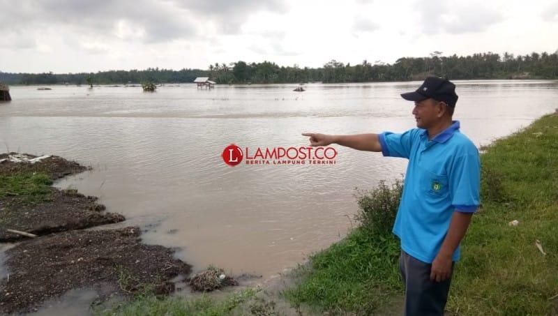 350 Ha Areal Padi Terendam Banjir, 40 Ha Puso