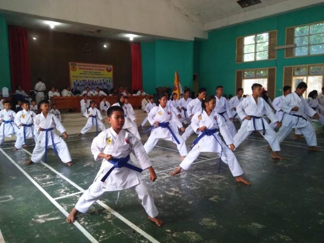 350 Inkado Lampung Ikuti Ujian Kyu