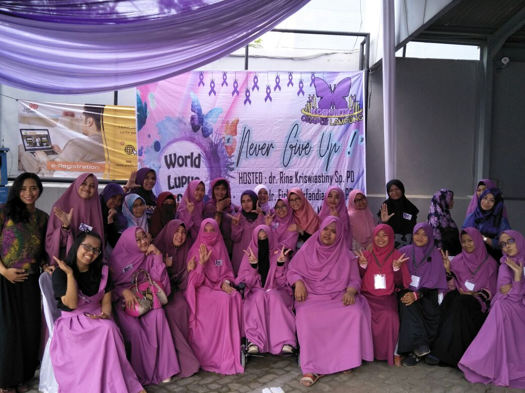 Komunitas Odapus Lampung Peringati World Lupus Day 2018