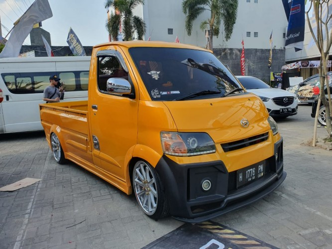 36 Mobil Modifikasi Ramaikan Daihatsu Dress Up Challenge di Semarang