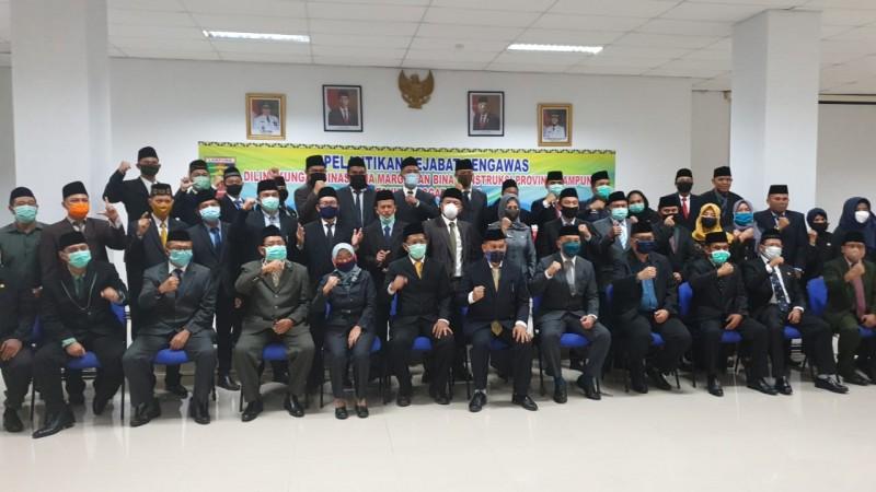 36 Pejabat Eselon IV Dinas Binamarga Dilantik