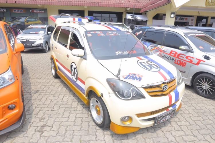 37 Mobil Modifikasi Ramaikan Daihatsu Dress-Up Challenge 2018 di Lampung