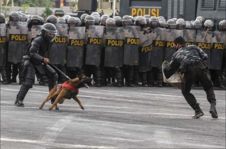 396 Personel Dikerahkan Amankan Pilkada Lampung Selatan