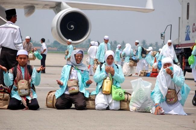 Separuh Jemaah Haji Telah Pulang ke Tanah Air
