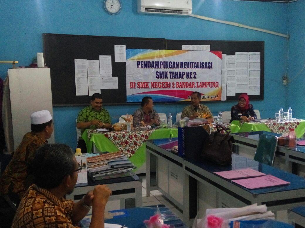 SMKN 3 Bandar Lampung Diminta Usulkan Program Revitalisasi ke Kemendikbud