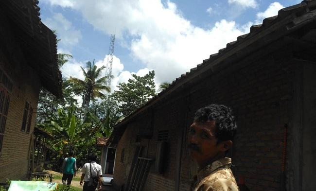 Sempat Ditolak Warga, CMI Tetap Lanjutan Pembangunan Tower di Kagunganratu