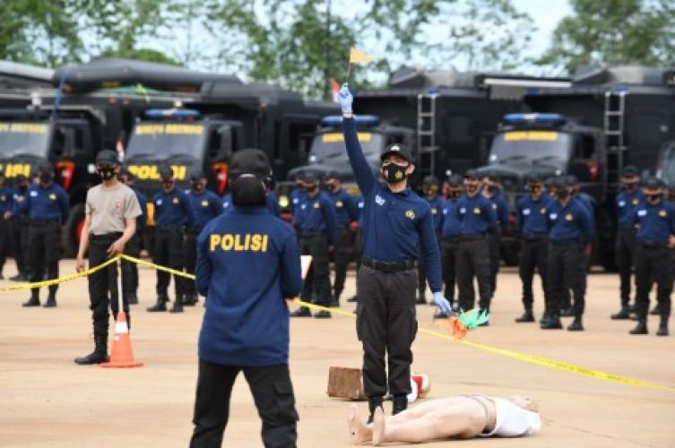 4.120 Personel Brimob Bersertifikat Siaga Tanggulangi Bencana