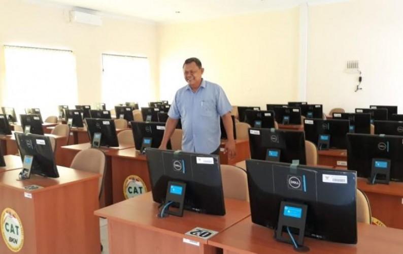 4.938 Peserta CPNS Tes SKD di UPT BKN Lampung