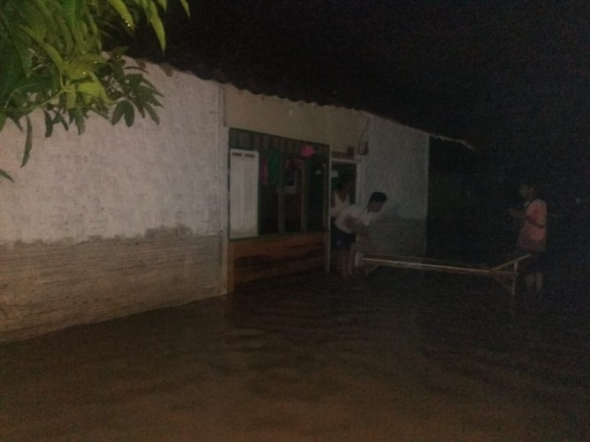 4 Desa di Gedongtataan Diminta Tetap Waspadai Banjir
