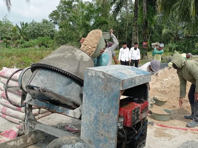 4 Desa di Natar Benahi Akses Pemakaman dari Dana Desa