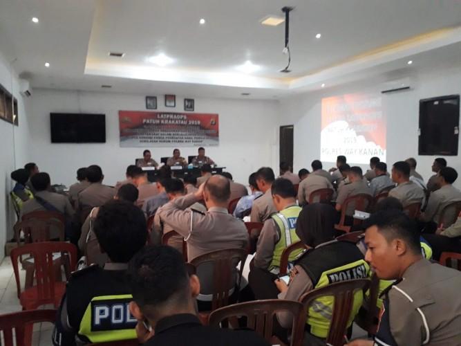 40 Personel Dilibatkan dalam Operasi Patuh Krakatau di Way Kanan