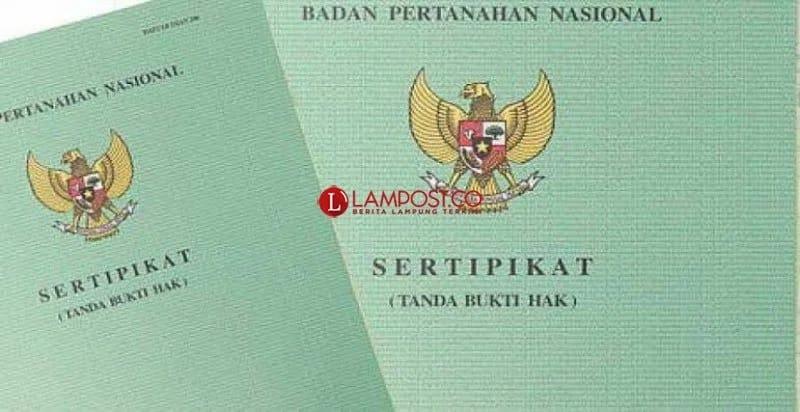 433 Bidang Tanah Milik Pemkab Lamtim Telah Bersertifikat