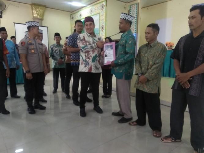 444 Imam dan Khatib Pesawaran Ikuti Pelatihan dan Pembinaan