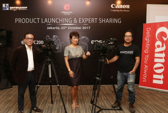 Canon Luncurkan Dua Kamera Sinema ke Pasar Indonesia