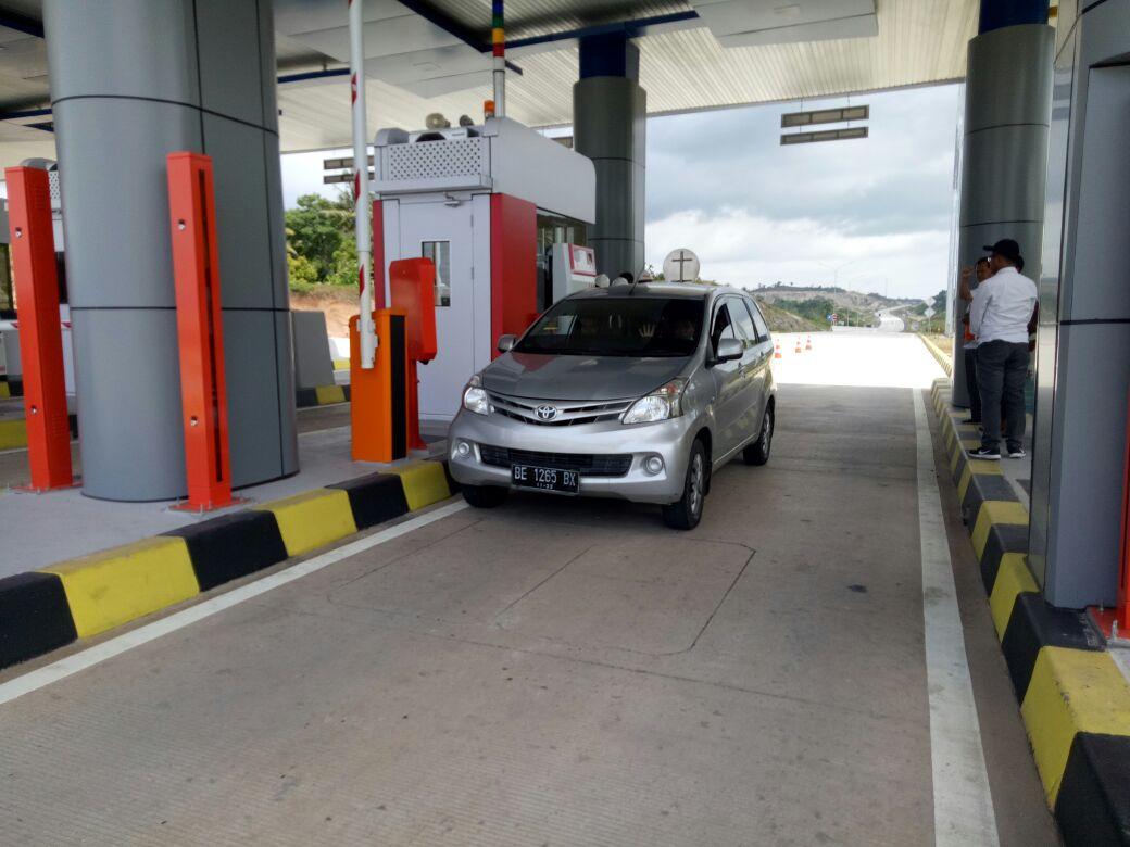 Tol Seksi 1 Pelabuhan Bakauheni-Simpang Susun Diminati Pengendara Mobil