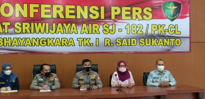 46 Jenazah Korban Sriwijaya Air Telah Diserahkan ke Keluarga