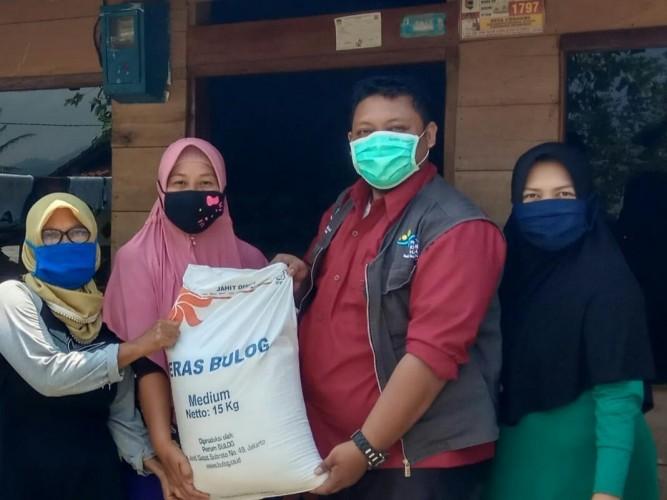464 Ribu KPM PKH Lampung Dapat Bantuan Beras